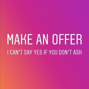 Can't say YES if you don't ask!